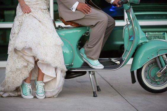5 bonnes raisons de se marier en sneakers